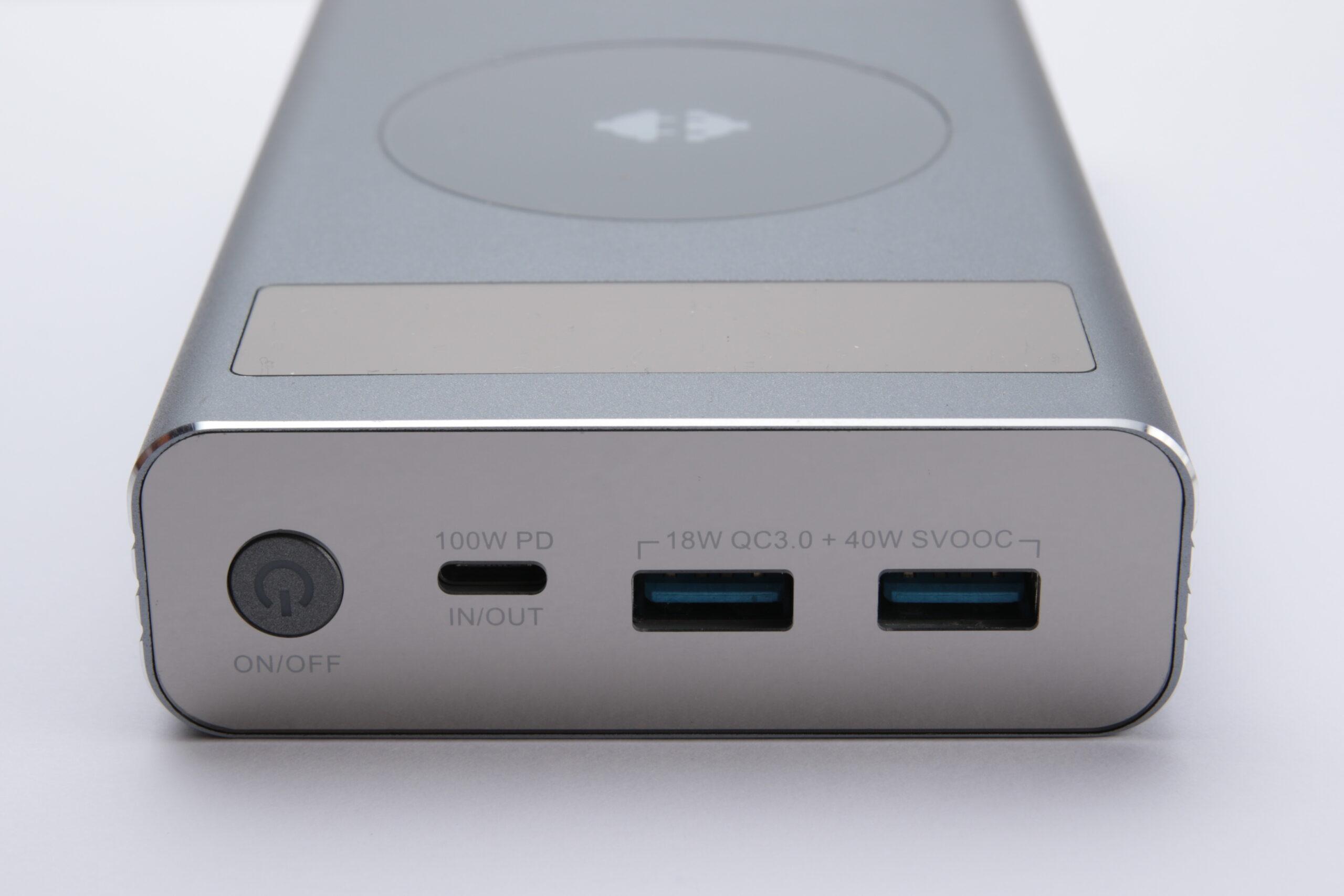 AKRYPS 20000mAh ワイヤレス充電器 Tesla™グラフェンバッテリー搭載